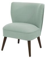 Skyline Furniture Armless Pleated Chair