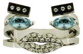 Delfina Delettrez Diamond Portrait Ring