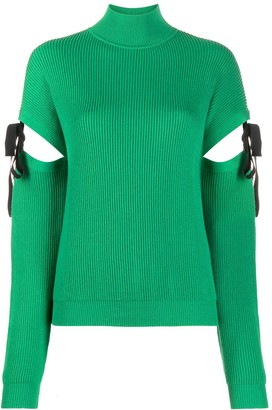 Boutique Moschino Cut-Out Wool Jumper