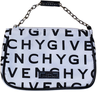 Givenchy White Cloth Travel bags
