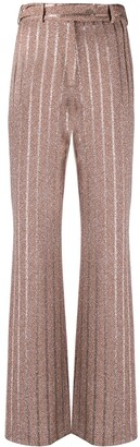 Missoni Striped Flared-Leg Trousers