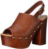 Qupid Women's Elma 03A Mule Sandal