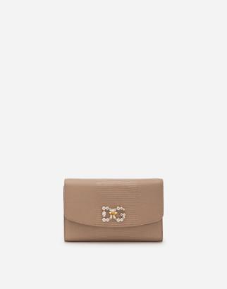 Dolce & Gabbana Iguana-Print Mini Bag