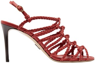 Paul Andrew Knotted Braided Leather Sandals
