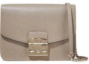Furla Metropolis Textured-leather Shoulder Bag