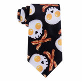 Asstd National Brand American Traditions Skull Eggs Tie