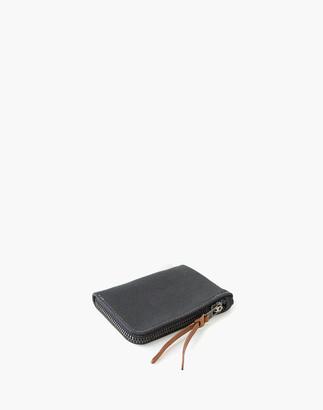 Madewell MAKR Canvas Zip Slim Wallet