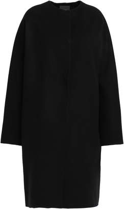 Theory Melange Wool And Cashmere-blend Coat
