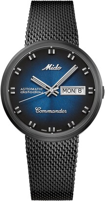 MIDO Commander Shade Automatic Mesh Strap Watch, 37mm