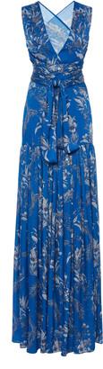 Alexis Belaya Printed Georgette Dress