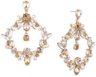 Givenchy Crystal Orbital Drop Earrings