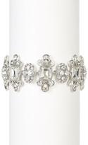 Givenchy Crystal Embellished Floral Bracelet
