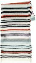 Missoni Multicolor Wool Blend Knit Scarf