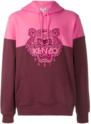 Kenzo colorblock Tiger hoodie
