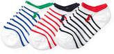 Ralph Lauren 2-6X Striped Low-Cut-Sock 3-Pack