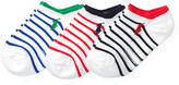 Ralph Lauren Striped Low-Cut-Sock 3-Pack