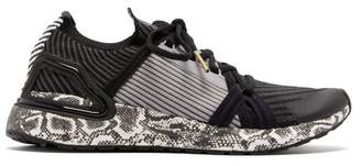 adidas by Stella McCartney Ultraboost 20 S Python-printed Trainers - Womens - Black Grey