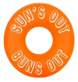Sunnylife Sunny Life Suns Out Buns Out Swimming Pool Ring