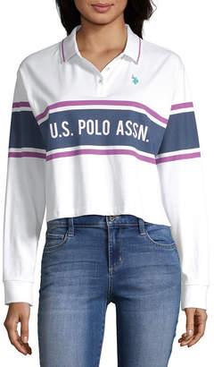 U.S. Polo Assn. Juniors-Womens Long Sleeve T-Shirt