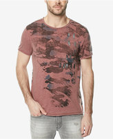 Buffalo David Bitton Men's Turan Cannon Graphic-Print T-Shirt