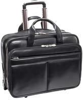 McKlein McKleinUSA Bowery 15.6 Leather Wheeled Laptop Briefcase