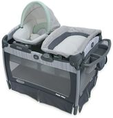 Graco Pack 'n Play® Playard with Nuzzle NestTM Sway Seat in Green/Grey