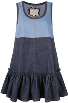 Marc Jacobs denim swing dress - women - Cotton - S