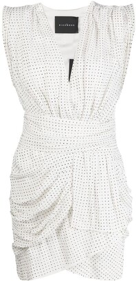 John Richmond Studded Ruched Dress