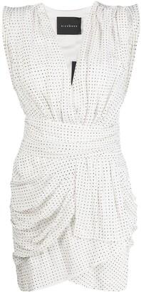 John Richmond Studded Ruched Dress