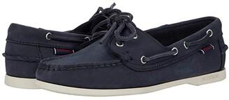 Sebago Jacqueline Nubuck (Blue Navy) Women's Shoes