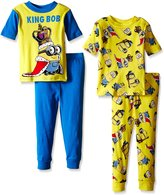 Despicable Me Big Boys King Bob Rules 4-Piece Pajama Set