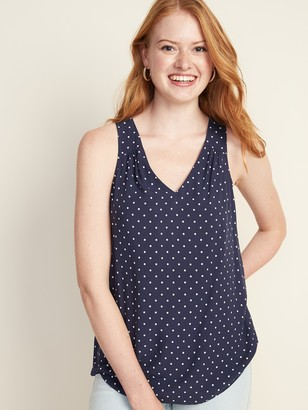 Old Navy Sleeveless V-Neck Keyhole Top for Women