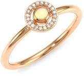 Astley Clarke 14K Rose Gold, Opal & Diamond Ring
