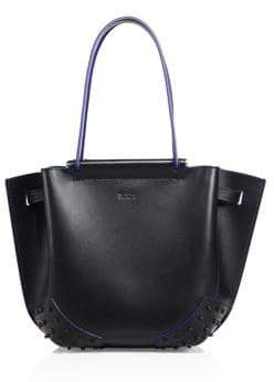 Tod's Wave Mini Leather Tote