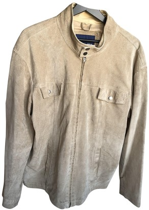 BEIGE Non Signe / Unsigned Suede Jackets