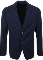 Michael Kors Ponte Blazer Jacket Navy