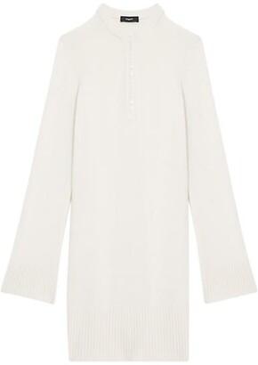 Theory Henley Cashmere Knit Dress