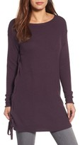 Women's Caslon Side Tie Seed Stitch Tunic Top