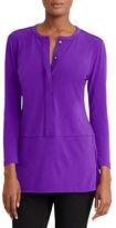 Lauren Ralph Lauren Jersey Long-Sleeve Tunic