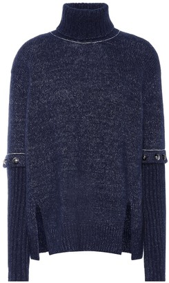 Chloé Alpaca, silk and mohair sweater