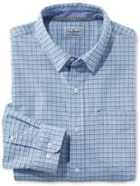L.L. Bean L.L.Bean Stretch Oxford Shirt, Slightly Fitted Check