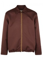 Marni Burgundy Jersey Jacket
