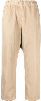 Nili Lotan Crinkled Effect Cropped Trousers