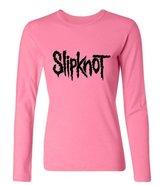 Dawn Lee Women's Slipknot Logo Long Sleeve T Shirt