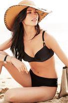 Next Womens Black Roll Top Bikini Briefs