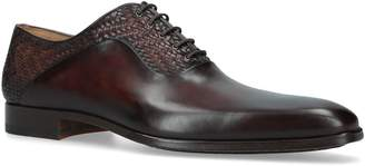 Magnanni Woven Mixed Oxford Shoes