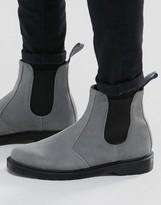 Dr. Martens Suede Chelsea Boots