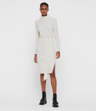 AllSaints Roza Cashmere Blend Jumper Dress