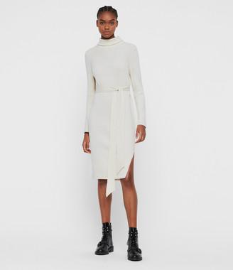 AllSaints Roza Jumper Dress