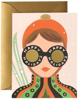 Rifle Paper Co. Ski Girl Holiday Stationary